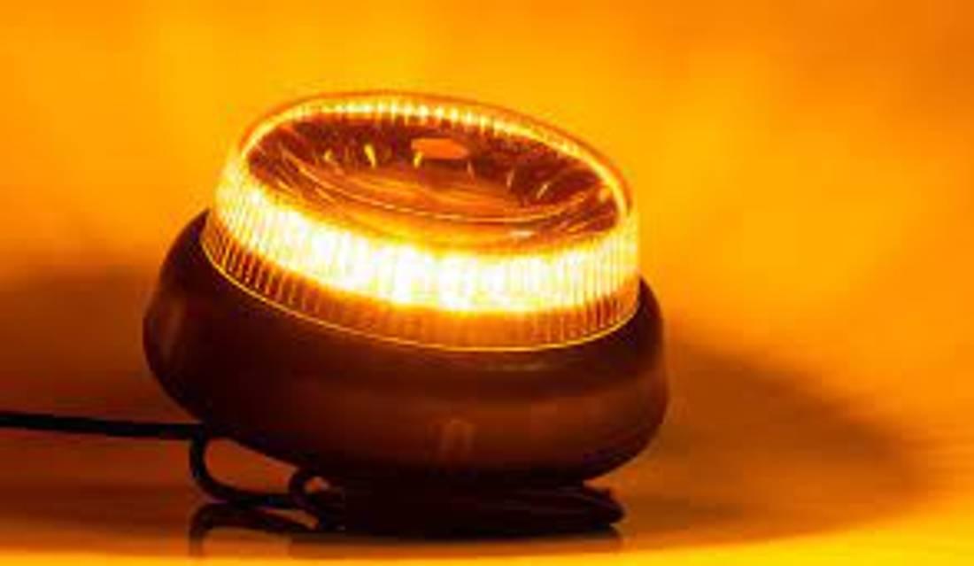 Varsellys LED E med sentral bolt
