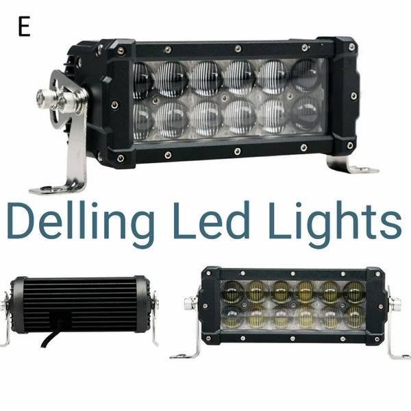 Delling E Merket 4 D reflektor LED Lysrampe 8