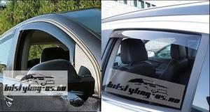 Bilde av Toyota Hilux 2006-2015 Vindavvisere 4 stk. In-Channel