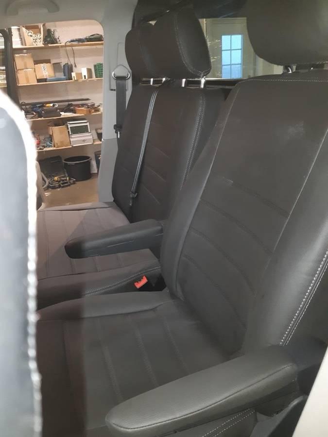 Setetrekk i skinn Transporter T6 T6.1  1+2